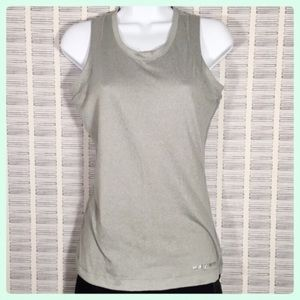 Under Armour Gray Heat Gear Tank